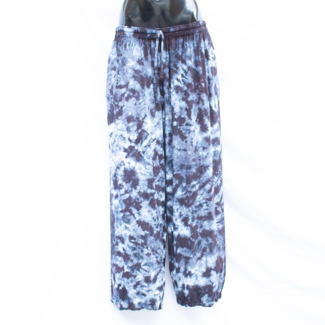 Purple Tie-Dye Trousers L/XL