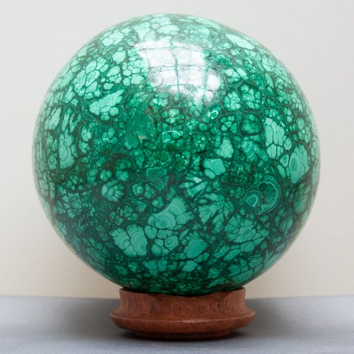 Malachite Crystal Ball