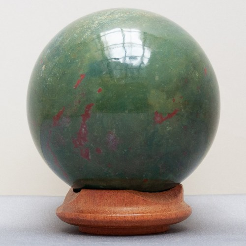 Green Bloodstone Crystal Ball