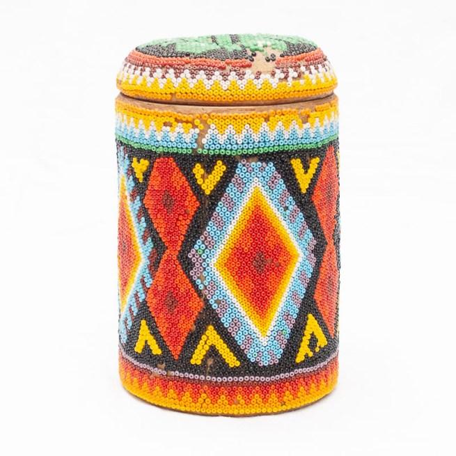Huichol Beaded Box