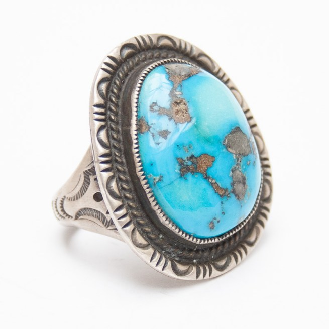 Turquoise Ring by C. Martinez