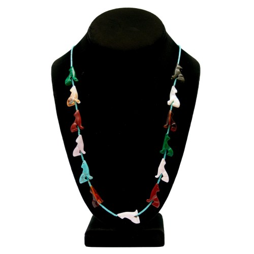 Zuni Coyote Fetish Necklace