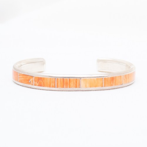 Larry Loretto Orange Spondylus Bracelet