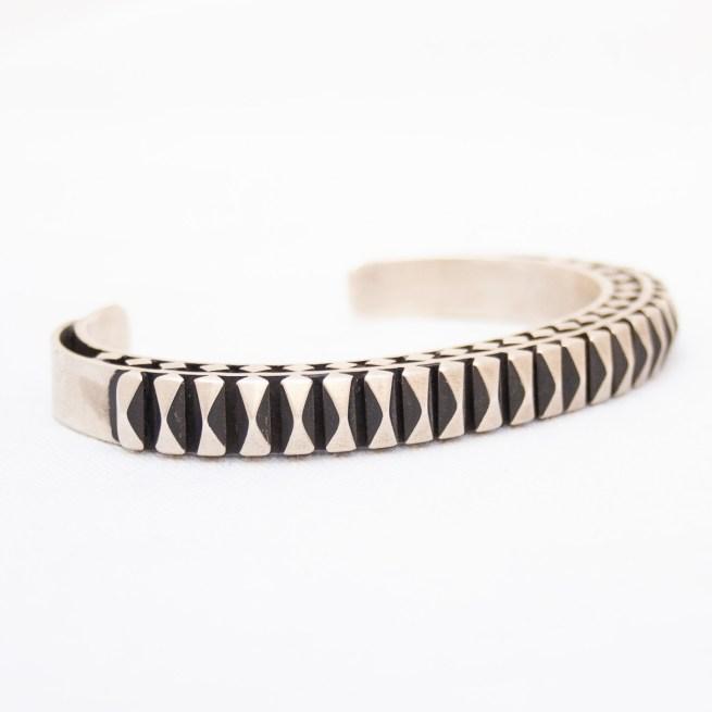 L. Tahe Silver Bracelet
