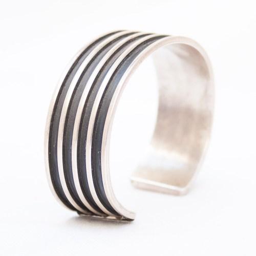 Tom Hawk Silver Bracelet