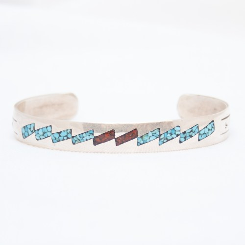 Chip Inlay Bracelet