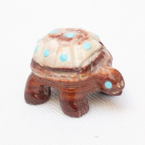 Little Brown Turtle Carving