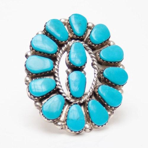 Joyce Vacit Turquoise Ring