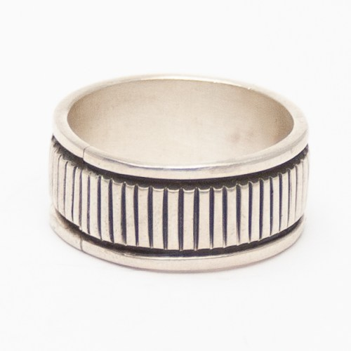 Morgan Thick Silver Ring