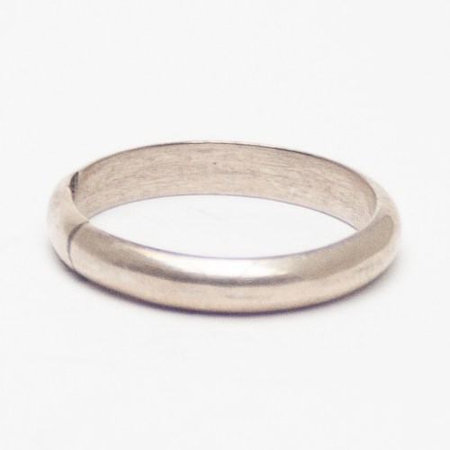 Thin Plain Silver Ring