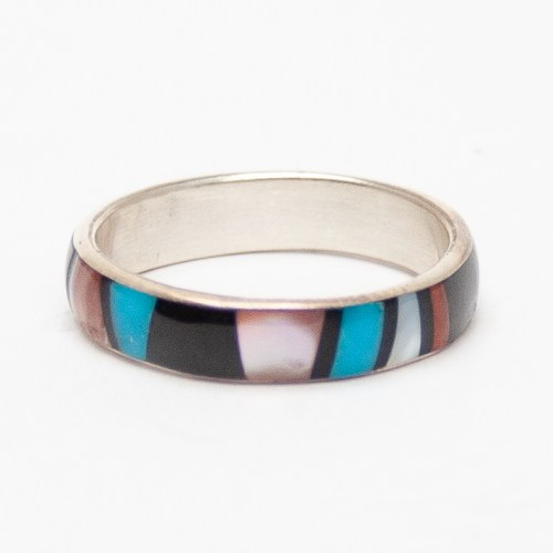 Rose Ukestine Rainbow Ring