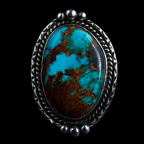 KC Cook Turquoise Ring