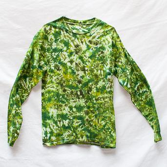 Haut Manches Longues Vert Taille M