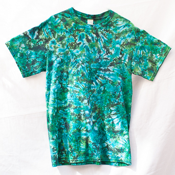 Green Turquoise T-Shirt Medium