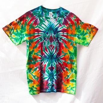 Rainbow Tie-Dye Size Medium