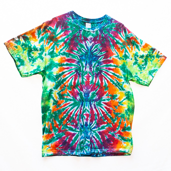 Multicolour Tie-Dye T-Shirt XL