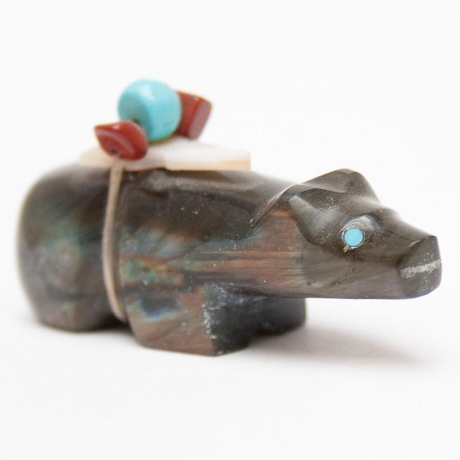 Michael Mahooty Zuni Bear Carving