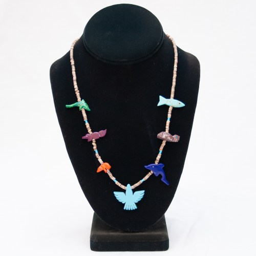 Zuni Animal Necklace