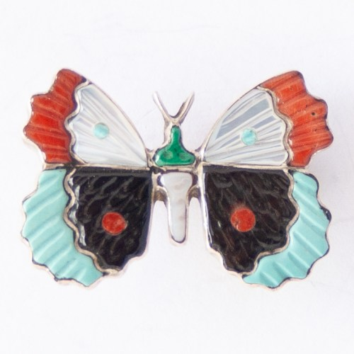 Tamara Pinto Butterfly Pin Brooch Pendant