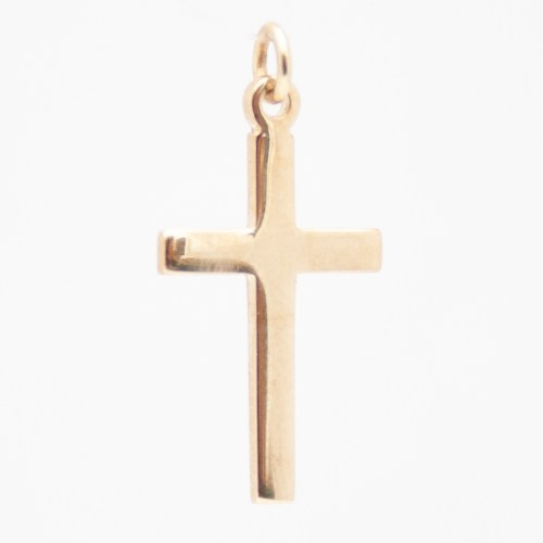 Petit Crucifix Or
