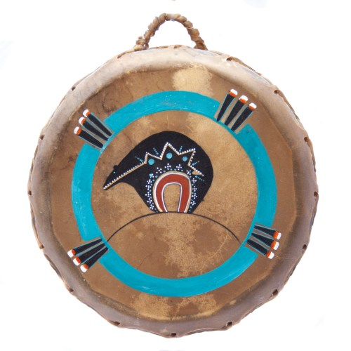 Bear Spirit Animal Shamanic Drum