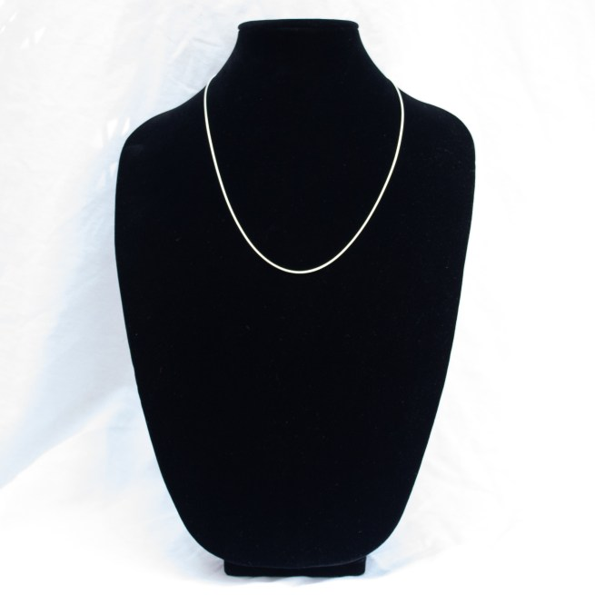 """Sterling Silver Snake Chain 24"""""""