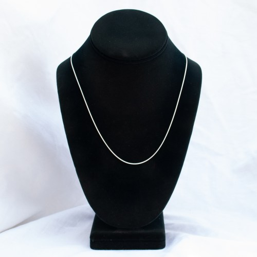 Sterling Silver Snake Chain 20""