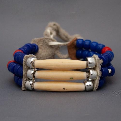 Bracelet Cherokee Os de Bison