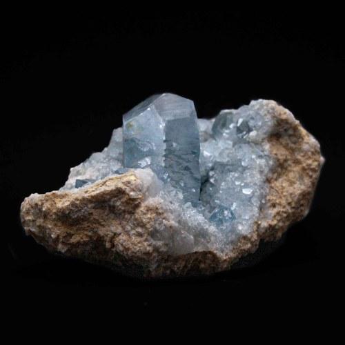 Large Celestite Crystal Cluster