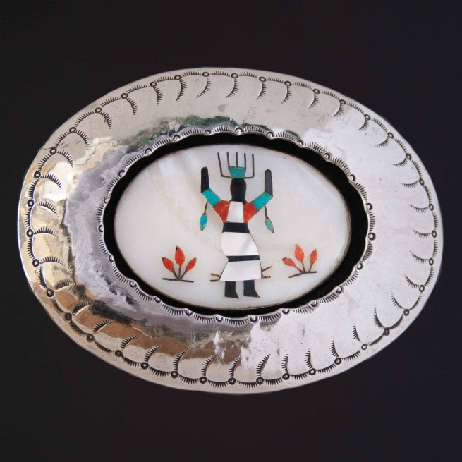 1920's George Martinez Kachina Belt Buckle