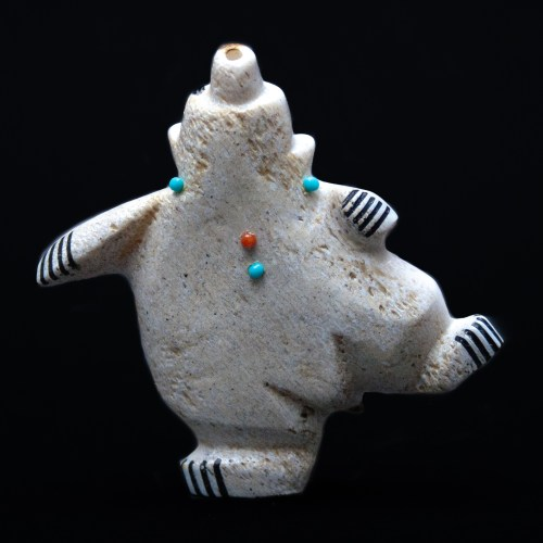Claudia Peiña Small Dancing Bear Carving