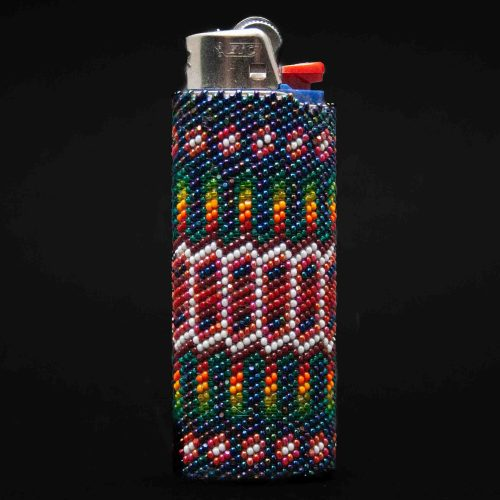 Large Multicolour Zuni Lighter Case