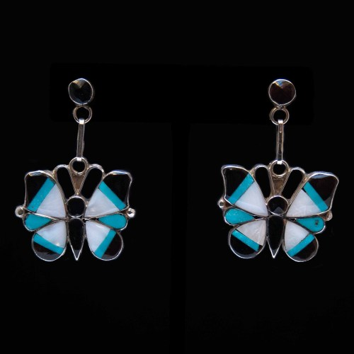 Angus Ahiyite Butterfly Earrings