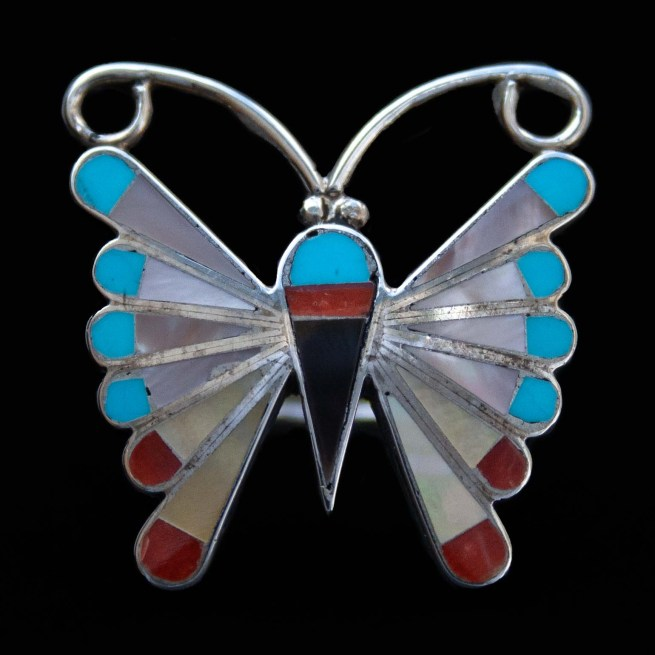 Adrian Wallace Butterfly Ring