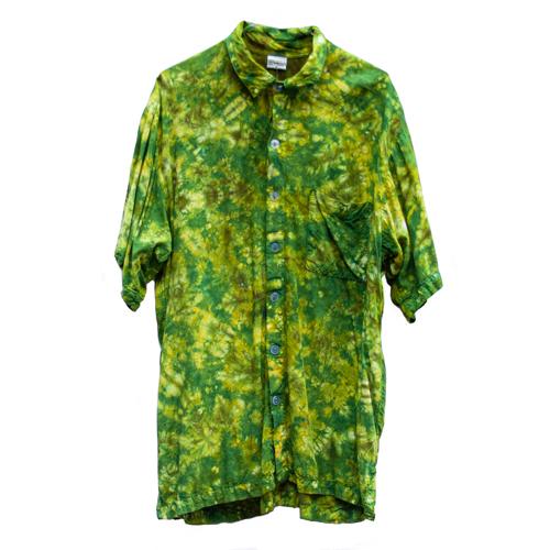 Khaki Tie-Dye Shirt