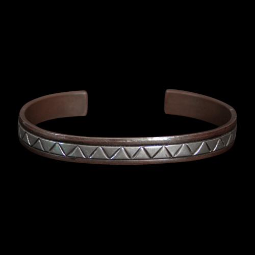 Wylie Secatero Copper Bracelet