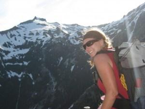 Me, Wildflower in the Central Cascades, WA Mt. Daniel