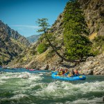 Rapid Rafting Waters