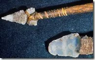Ancient stone spears