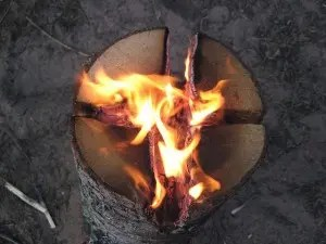 Swedish Fire Log (Canadian Candle)