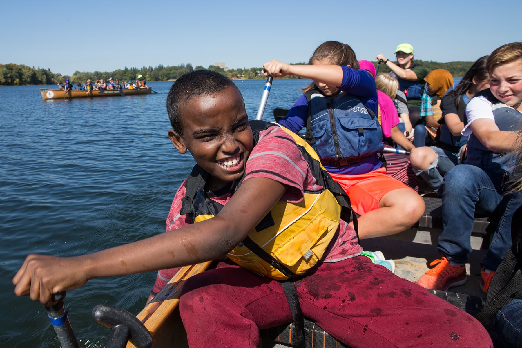 St Cloud Sixth Graders Learn Minnesota History From A