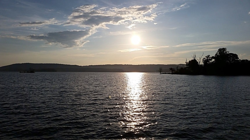 Guntersville Lake in Alabama