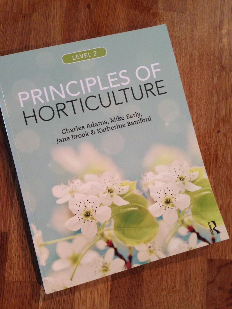 principles of horticuture review