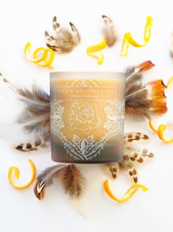 Orange Patisserie Naturally Fragrant Candle 1