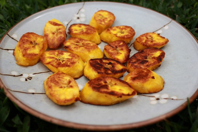 Healthier Fried Plantains