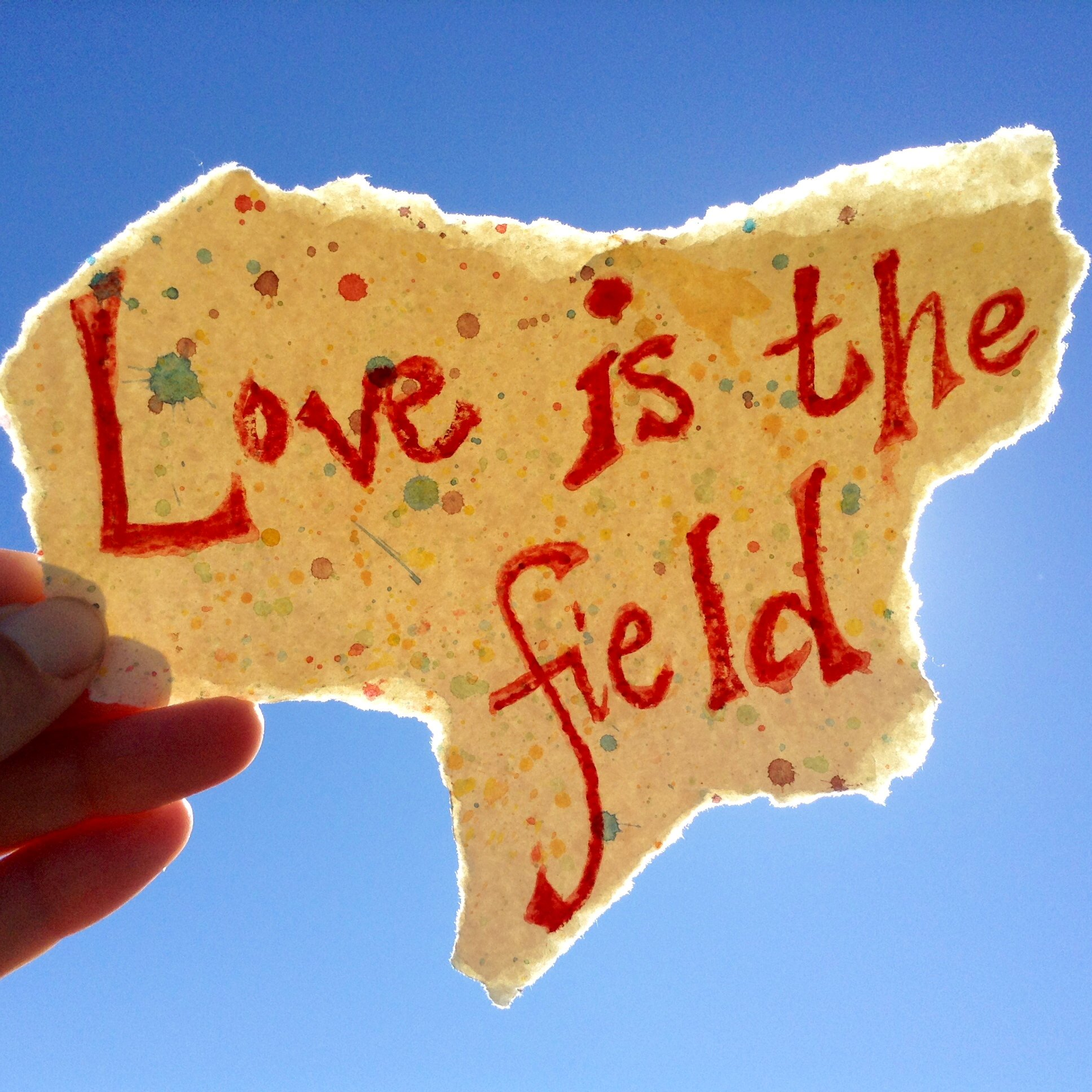 Love Is The Field