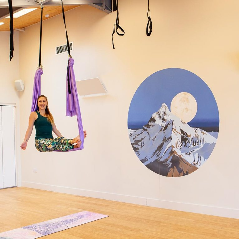 Beginner Aerial Yoga Classes with Nicky