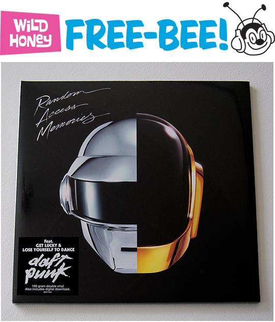 daft punk free-bee
