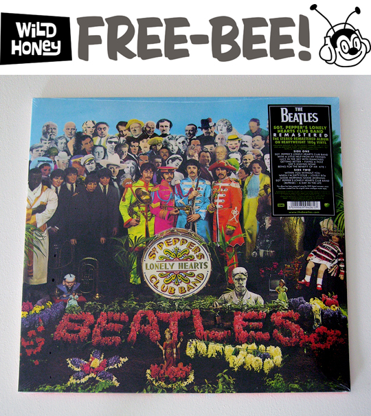 Sgt. Peppers Free Bee