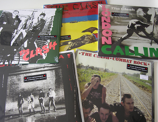 THE CLASH vinyl reissues